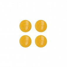 Μαγνήτης Σημειώσεων Σετ 4 Κίτρινος Memo Metaltex 295500