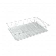 Πιατοθήκη - Στεγνωτήρι Πιάτων Με Δίσκο 48x30x10υψ Germatex Metaltex 320245