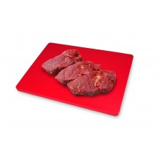 Βάση Κοπής Πλαστική PE Κόκκινη 30x45εκ Veltihome 34450