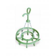 Κρεμάστρα Για Απλώστρα Πλαστική 16 Θέσεων Casabrico 559801