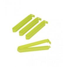 Κλιπ Πλαστικά Για Σακούλες 4Τεμ Πράσινο 10εκ Metaltex 295610