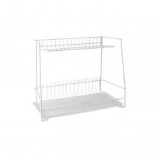 Πιατοθήκη - Στεγνωτήρι Πιάτων Συρμάτινο Λευκό 48x22x40υψ Paritex Metaltex 324050