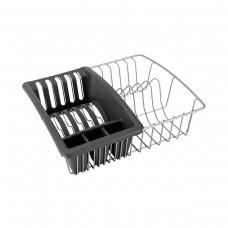 Πιατοθήκη - Στεγνωτήρι Πιάτων Με Πλαστική Θήκη 35x30x11υψ Aquatex Polytherm Metaltex 325025