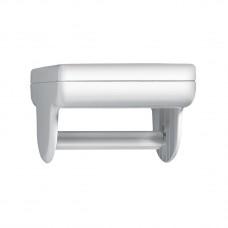 Βάση Τοίχου Για Χαρτί Τουαλέτας Πλαστικό Λευκό Aquario Eliplast 704-1