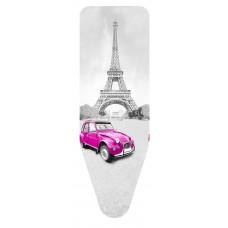 Σιδερόπανο Με Σχοινάκι Και Κλίπ Ενισχυμένο Βαμβάκι Molleton Paris City 55x140εκ Colombo 5310