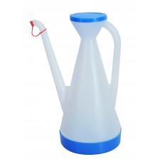 Δοxειο Λαδιου - Λαδικο 1,3 Λτ Με Καπακι PLASTICA No.30 - 12.5x12.5x27υψ Μπλε Καπάκι