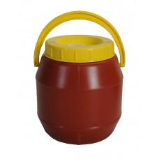 Βαρελι Τροφιμων 2 Λτ PLASTICA No.720 14x14x16υψ