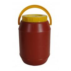 Βαρελι Τροφιμων 3 Λτ PLASTICA No.721 15x15x22υψ