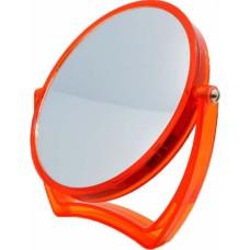 Καθρεφτάκι Επιτραπέζιο Στρογγυλό Διπλό Πορτοκαλί 742707 16εκ Ankor