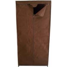 Ντουλάπα Υφασμάτινη Ρούχων Καφέ 757633 75x46x160υψ