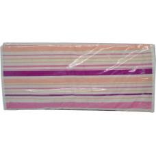 Σιδερόπανο Με Κορδόνι 100% Βαμβάκι 46x130εκ Ροζ Ρίγες 764754 ΟΕΜ