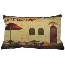 Μαξιλάρι Διακοσμητικό Ορθογώνιο Coffee House 768783 30x50εκ Ankor