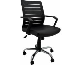 Καρέκλα Γραφείου Μαύρη OEM 761494 Κάθισμα 59x57εκ. Ύψος 87-99εκ