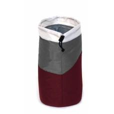 Ισοθερμική Τσάντα Μικρή Για Μπουκάλι 0,5lt OEM 767083 9x9x20υψ - Σκούρο ΚόκκινοΓκρι