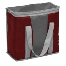 Ισοθερμική Τσάντα 16lt OEM 767106 35x17x34υψ - Σκούρο Κόκκινο Γκρι