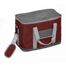 Ισοθερμική Τσάντα 22lt OEM 767120 37x21x34υψ - Σκούρο Κόκκινο Γκρι