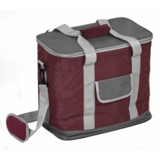 Ισοθερμική Τσάντα 28lt Μεγάλη OEM 767137 - Σκούρο Κόκκινο Γκρι