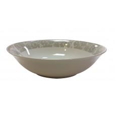 Σαλατιέρα Πορσελάνης Στρογγυλή Γκρι Λαχούρι R8028-090 Φ23εκ Ankor