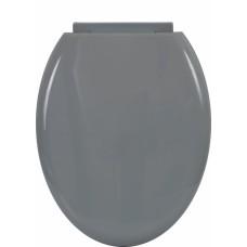 Καπάκι Τουαλέτας Πλαστικό Με Μαλακό Κλείσιμο OEM 774845 44x36,8εκ - Γκρι
