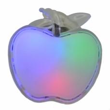 Φωτάκι Νυκτός LED 770946 3χρώματα 3LED-0,3W-838 6εκ - Μήλο