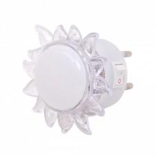 Φωτάκι Νυκτός LED 770953 4LED-0,4W-831 6εκ - Ήλιος