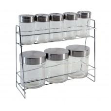 Βάζα Κουζίνας Σετ 8τεμ Για Μπαχαρικά Με Βάση 770410 OEM