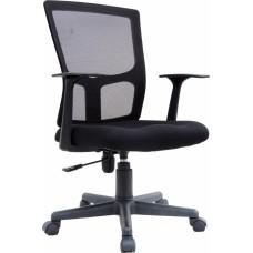 Καρέκλα Γραφείου Μεγάλη, Ανακλινόμενη OEM 775811 59x53x104υψ - Μαύρη