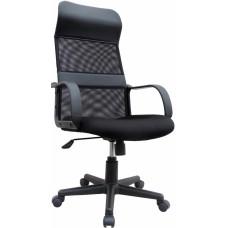Καρέκλα Γραφείου Μεγάλη, Ψηλή Πλάτη, Ανακλινόμενη OEM 775828 61x59x123υψ - Μαύρη