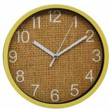 Ρολόι Τοίχου Πλαστικό, Στρογγυλό, Μπεζ, 20εκ, 775286