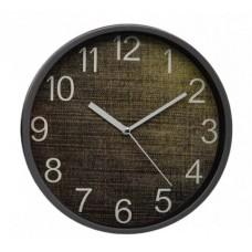 Ρολόι Τοίχου Πλαστικό, Στρογγυλό, Γκρι, 25εκ, 775293