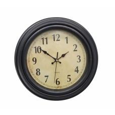 Ρολόι Τοίχου Πλαστικό, Αντικέ Καφέ, 31εκ, 774135