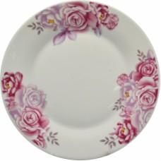 Σετ Πιάτα Πορσελάνης 20τεμ Στρογγυλό, Τριαντάφυλλο, R8038-20
