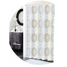 Κουρτινα Μπάνιου Αδιάβροχη, Λαχούρι, Με Κρίκους 775392 180x180υψ