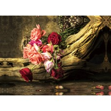 Κάδρο Σε Καμβά 773909 Λουλούδια 39x56x2,5εκ