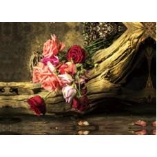 Κάδρο Σε Καμβά 773916 Λουλούδια 50x70x2,5εκ