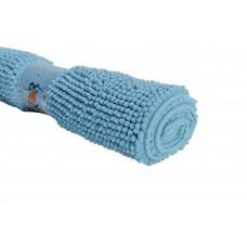 Πατάκι Μπάνιου Σενιλ 50x80εκ Γαλάζιο Αντιολισθητικό 776184