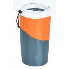 Ισοθερμική Τσάντα Μικρή Για Μπουκάλι 0,5lt OEM 778188 9x9x20υψ Γκρι - Πορτοκαλί