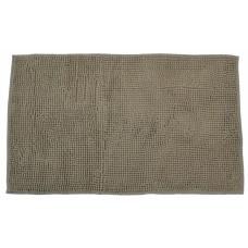 Πατάκι Μπάνιου Σενίλ 50x80εκ Μπεζ - Καφέ Αντιολισθητικό 776160 - Ankor