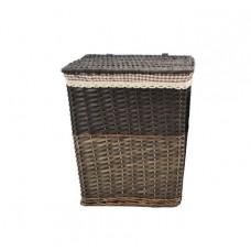 Καλάθι Απλύτων Μπαμπού Ορθογώνιο Ύφασμα Β' 775316 42x32x48υψ - Ankor