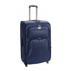 Βαλίτσα - Τρόλλευ Ταξιδίου Καμπίνας Αεροπλάνου 2 Ρόδες Μπλε 50εκ 782970 - Ankor