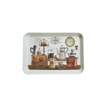 Δίσκος Σερβιρίσματος Μελαμίνης Ορθογώνιος ΄Γ Coffee 775521 21,5x14,5x2υψ