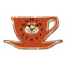 Ρολόι Τοίχου Ξύλινο Cup 780570 30x16υψ Ankor