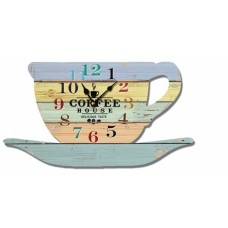 Ρολόι Τοίχου Ξύλινο Cup 780587 30x16υψ Ankor