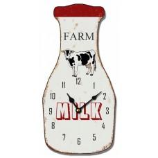 Ρολόι Τοίχου Ξύλινο Milk 780594 13x27υψ Ankor