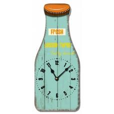 Ρολόι Τοίχου Ξύλινο Milk 780600 13x27υψ Ankor