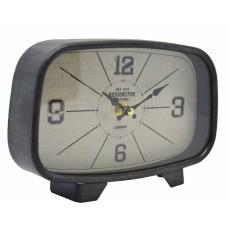 Ρολόι Επιτραπέζιο Αντικέ Μαύρο - Γκρι 789047 20x5x14υψ Ankor