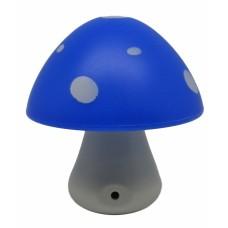 Φωτάκι Νυκτός Ankor Led Ψυχρό Μπλε Μανιτάρι 779604 8x8εκ