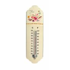Θερμόμετρο Τοίχου Μεταλλικό 786787 31εκ Ankor