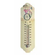 Θερμόμετρο Τοίχου Μεταλλικό 786800 31εκ Ankor