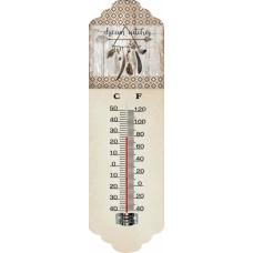 Θερμόμετρο Τοίχου Μεταλλικό 786817 31εκ Ankor